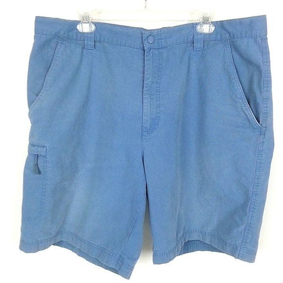 Columbia Other - COLUMBIA Men's Flat Front Casual Cargo Shorts  C14